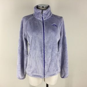 North Face S Fuzzy Osito light Lilac Purple fleece